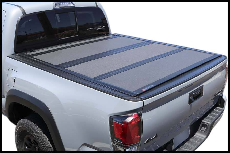 Toyota Tacoma Bed Cover >> Bakflip Mx4 448426 Toyota Tacoma 5 Bed Hard Folding Tonneau Cover